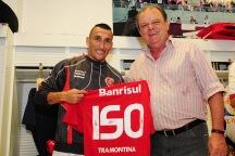 Em 2010, Guiñazu completava 150 jogos pelo clube